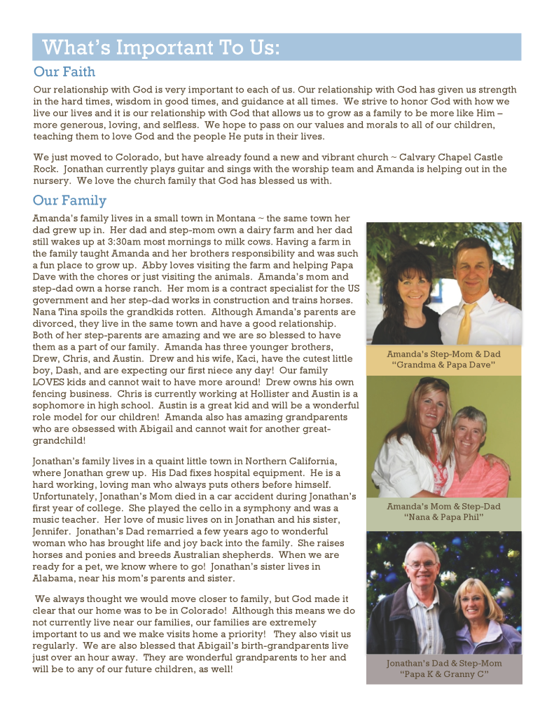Adoption Profile Page 5